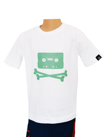 Mangas Cortas - Bothrops Remera Bone Cassette