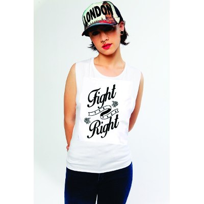 Mangas Cortas - Fight For Your Right Musculosa Fortune