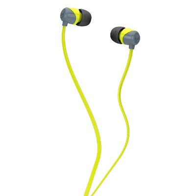 Skullcandy Auriculares Skullcandy Jib In-ear W/o Mic Gray/hot Lime/
