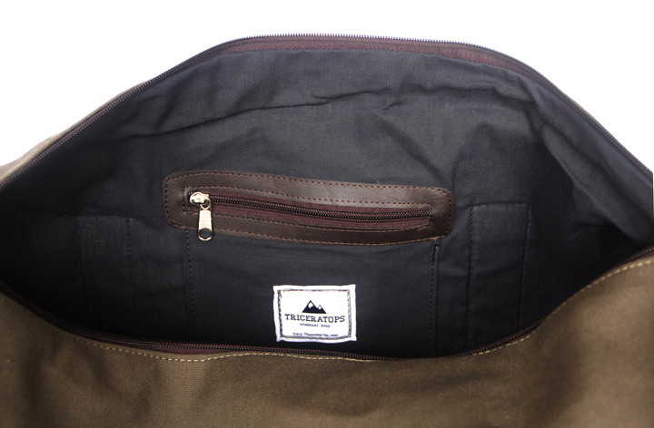 Mochilas - Triceratops Bolso Duffle Rough Black