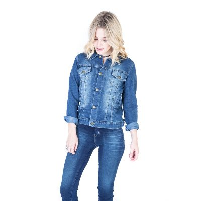 Jeans - Kout Campera De Jean Lady Missy Destroyer