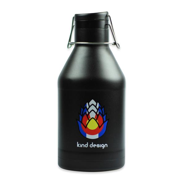 Hydration - Kind Design Colorado Hops Insulated Growler