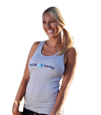 Tanks - Local Honey Designs Local Honey 2x1 Tank - Heather Grey