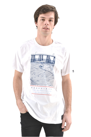 Mangas Cortas - Bodacious Remera Waves