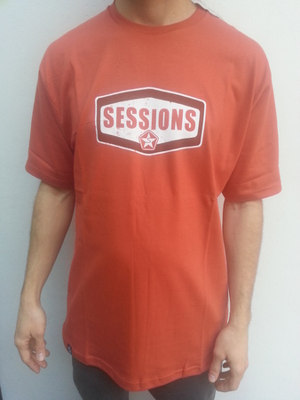 Mangas Cortas - Sessions Remera Oil