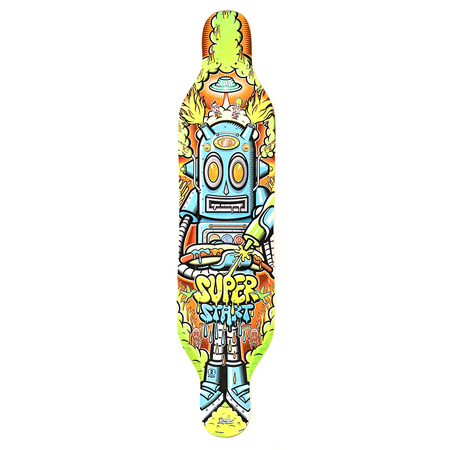 Tablas - Lab Skateboarding Deck de Longboard SuperStart Robot