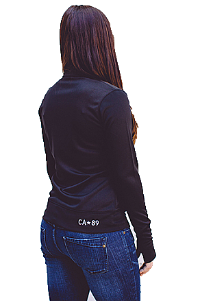 Jackets - California 89 Women's Zip Jacket Shield on Left Sleeve