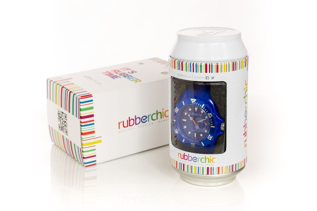 Relojes - Rubberchic Reloj Basic Blue- 43mm