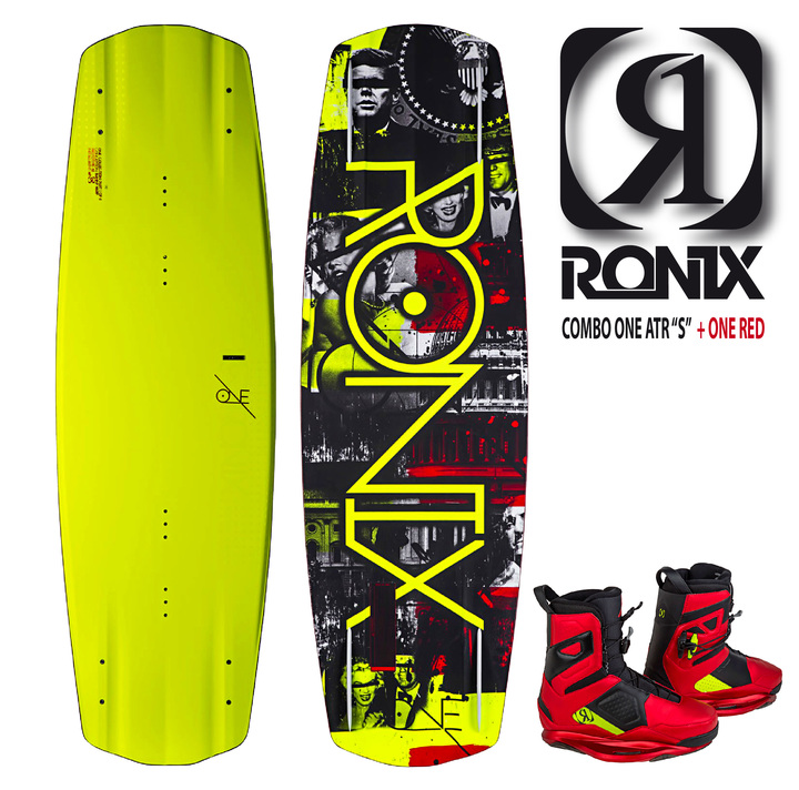 "Tablas - Ronix Combo RONIX One ATR ""S""  c/ One Red"