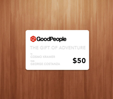 More - GoodPeople $50 GoodPeople Gift Card