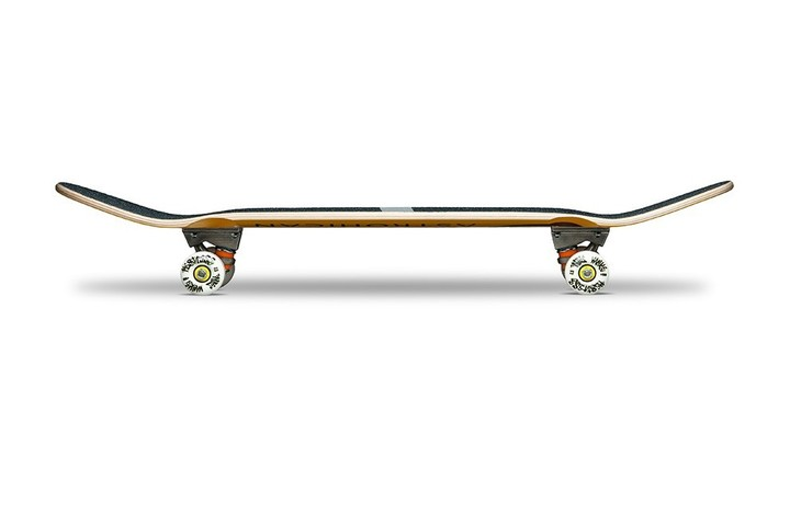 Restless Longboards AstroHican Black Deck Longboard - Deck only