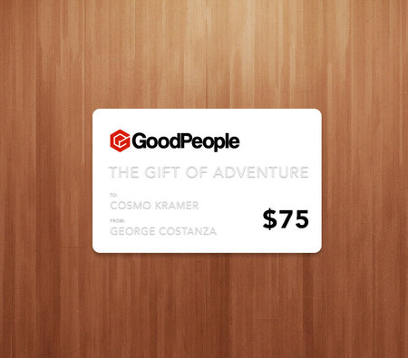 More - GoodPeople $75 GoodPeople Gift Card
