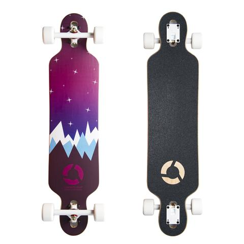 Clothing - Concrete Coast Limited Art Series Longboard - Winter Nights