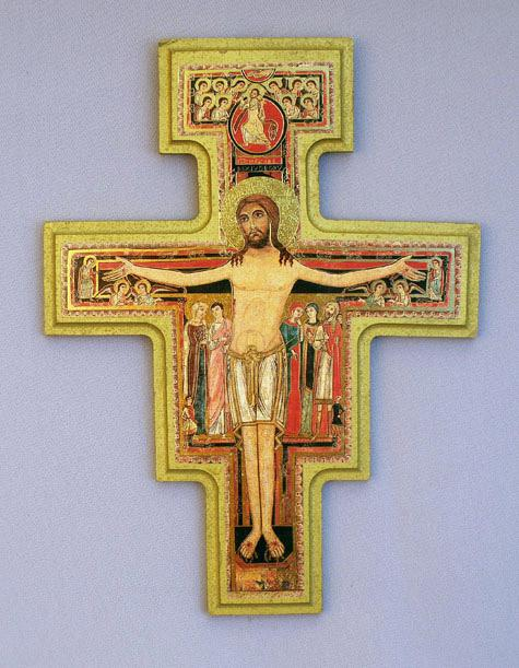 San Damiano Crucifix Cross