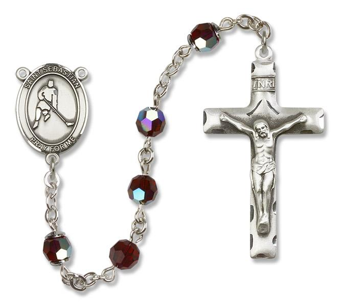 Patron Saint Rosaries -- Including Swarovski Engravable