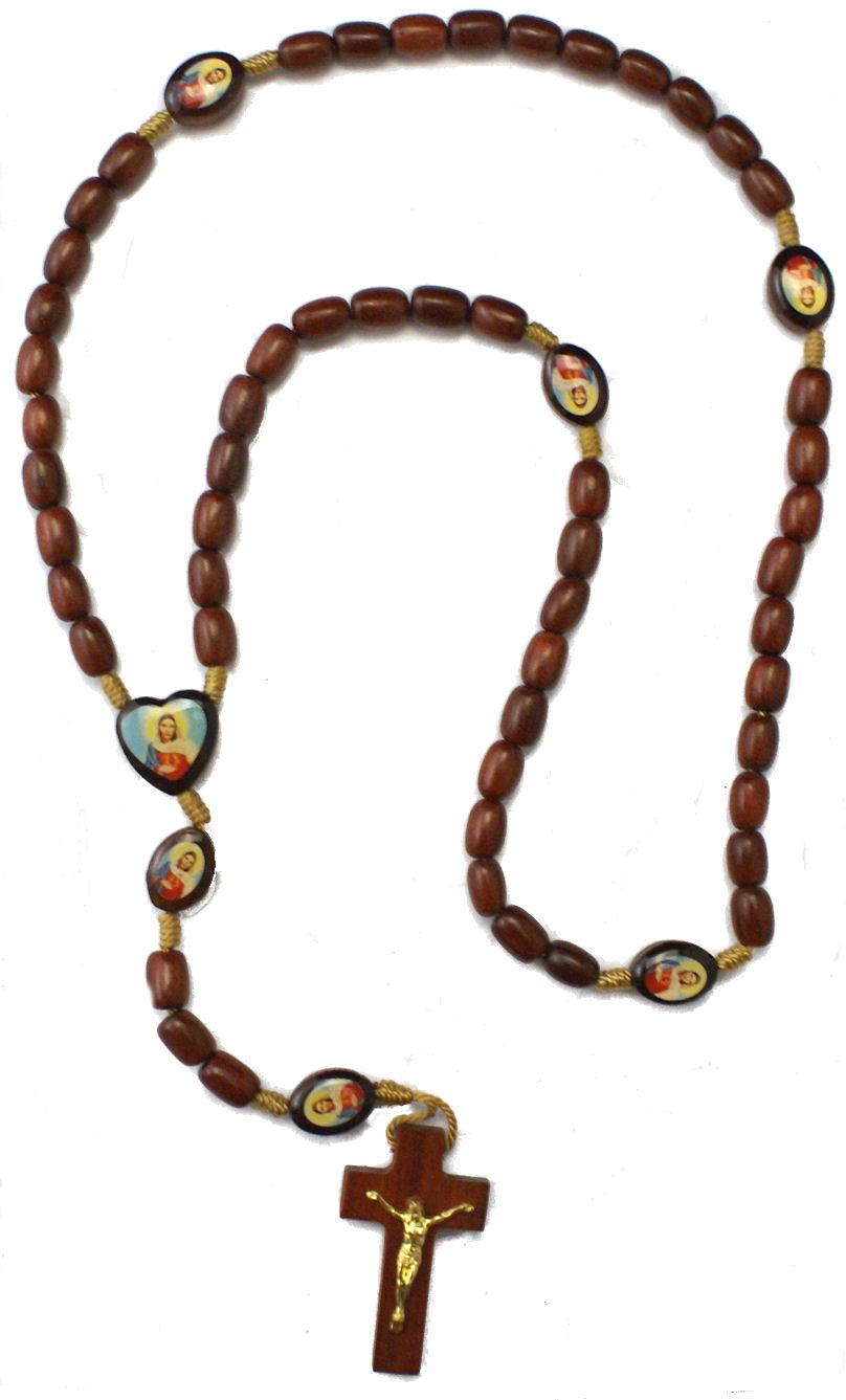 Wood Rosaries