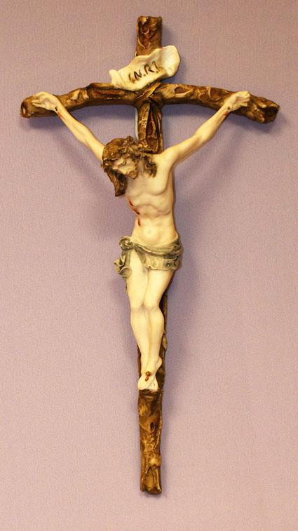 Crucifix by Ado Santini - 11 inches