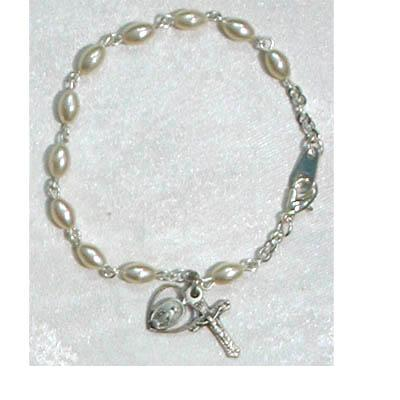 DELUXE Youth Oval Pearl Bracelet