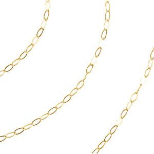 0.5 mm Cable Chain - 14K Gold