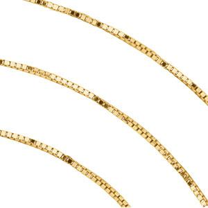 0.55 mm Box Chain - 14K Gold