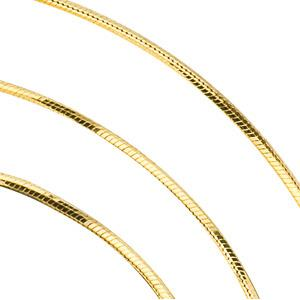 Snake Chain - Diamond Cut - 14K Gold