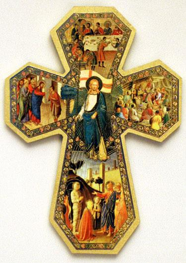 Cross of Miracles in Florentine style