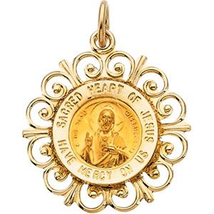 Sacred Heart of Jesus Medal