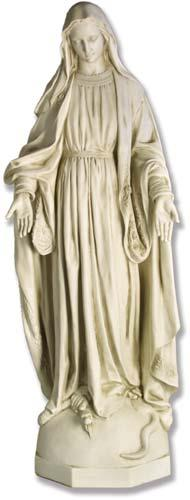 Large Our Lady of Grace Statue - 56-inches