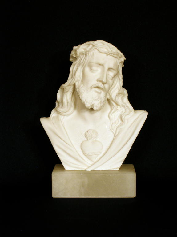 Sacred Heart of Jesus Bust by Giannelli