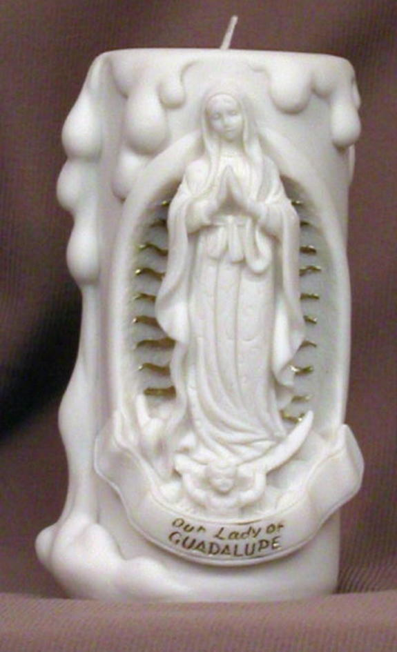 Our Lady of Guadalupe Votive Candle