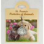 Engraveable  Pet Medal - St Francis  Small