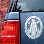 Miraculous Medal Car Decal