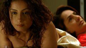 Divya Dutta Cleavage Scene – Monica