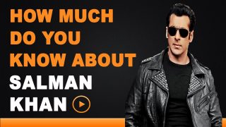 Salman Khan – How Much Do You Know About Your Star?