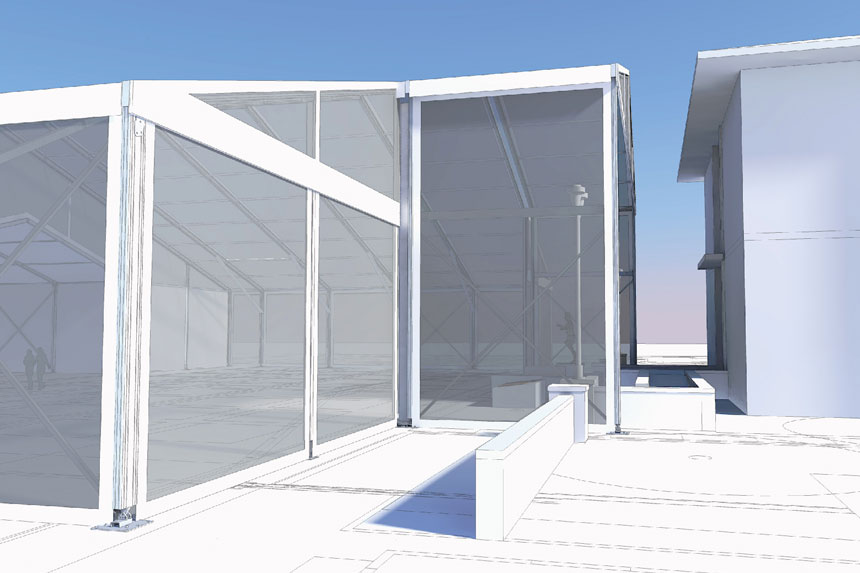 3D Rendering of Structure Extension