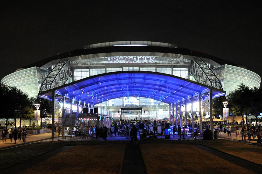 Dallas Cowboys Miller Lite Corral Arena Americas