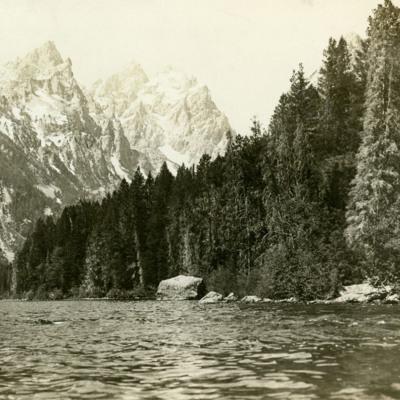 Grand Teton from Jenny Lake