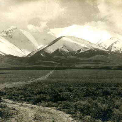 Humboldt Mts. From near Imlay
