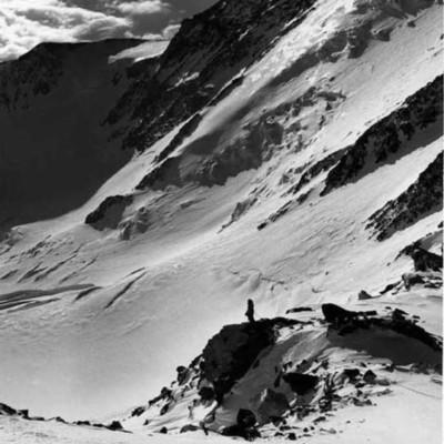 Barbara Washburn on Denali Pass