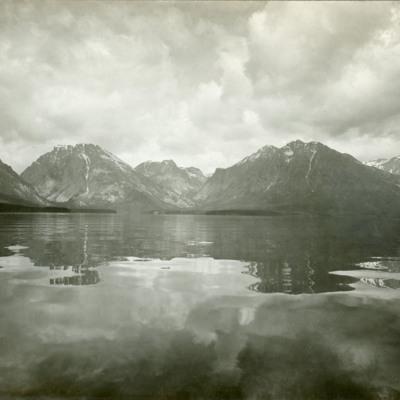 Teton Range north of Mt. Moran.