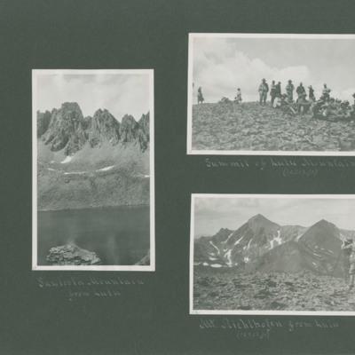 Sawtooth Mountain from Lulu