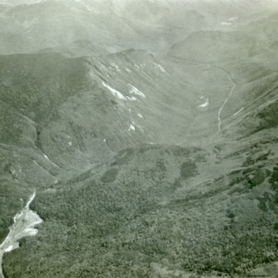 Looking down Crawford Notch.