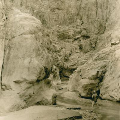 Grand Canyon. Looking into Canyon of Shinttino Creek