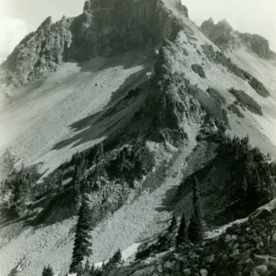 Pinnacle Peak, Tattoosh Range, Mt. Rainier Nat. Park