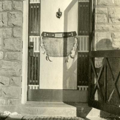 Modern door at St Michael's Mission.jpg