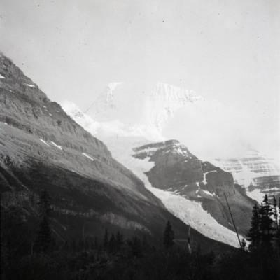 Mt. Robson in evening light