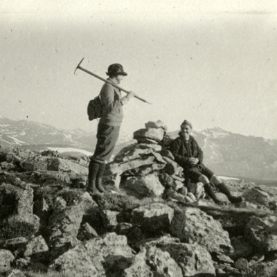 Agnes Vaille and Cairn