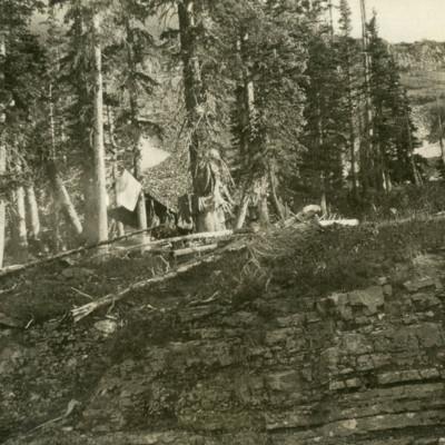 Camp in Bilk Creek Basin