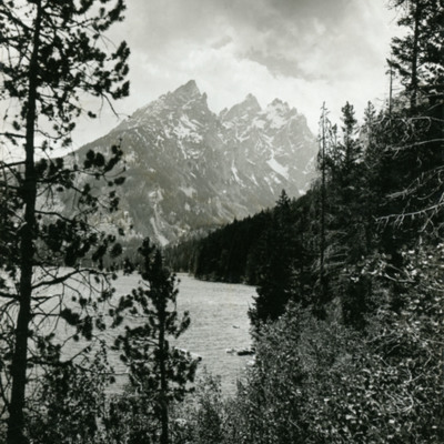 Grand Teton from Jenny Lake