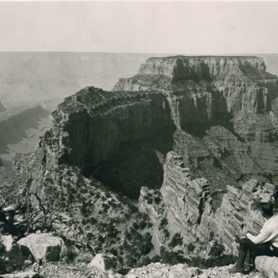 Wotans Throne from Cape Royal, north rim. Grand Canyon
